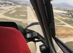 Air base. Sabadell Airport