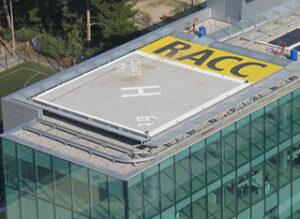 Racc Heliport. Barcelona